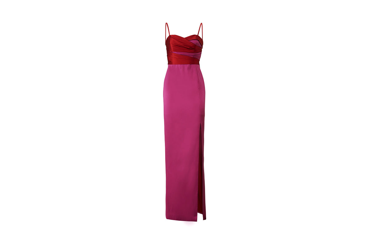 prom dress rental from Rent the Runway is a Two Tone Mikado Gown by Marchesa Notte