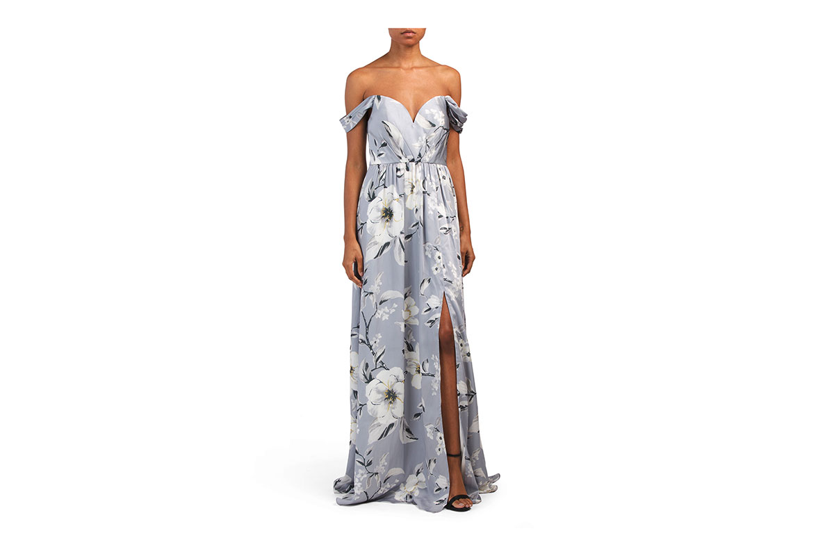 Bariano Bouvoir A-line Gown
