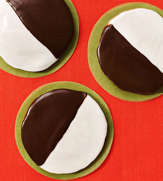 Retro Black & White Cookies