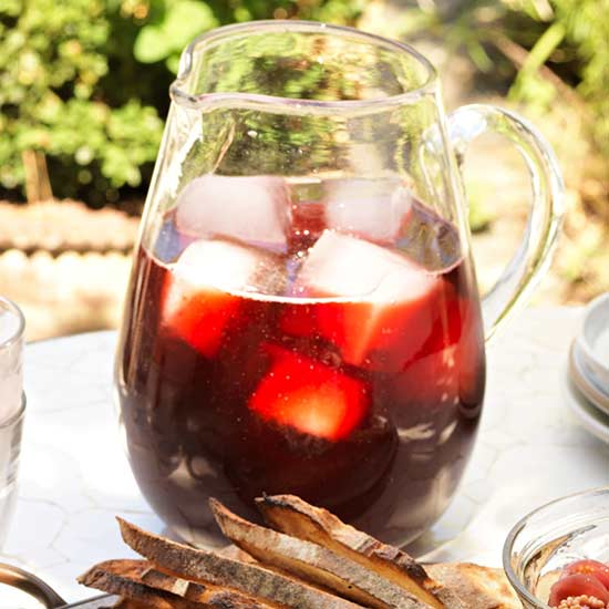 Strawberry-Hibiscus Punch