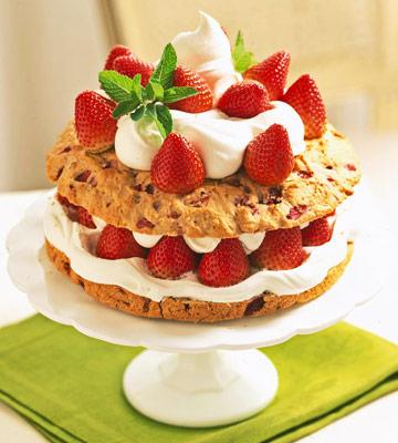 Double Strawberry Shortcake