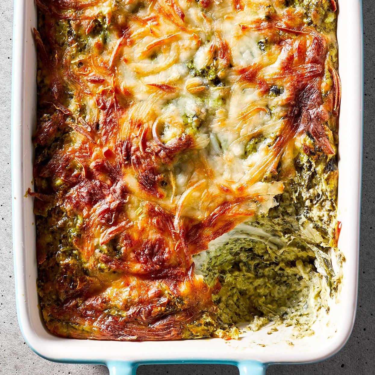 Warm Spinach-Artichoke Dip