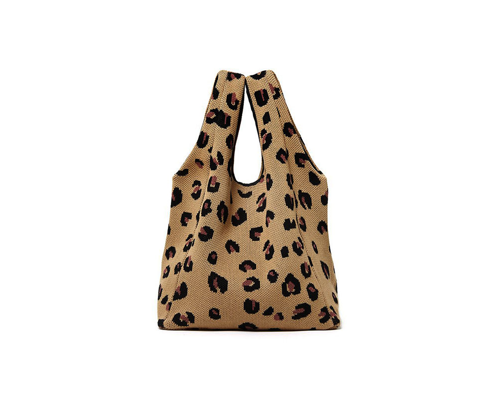 Cheetah Shopper Bag Hansel from Basel