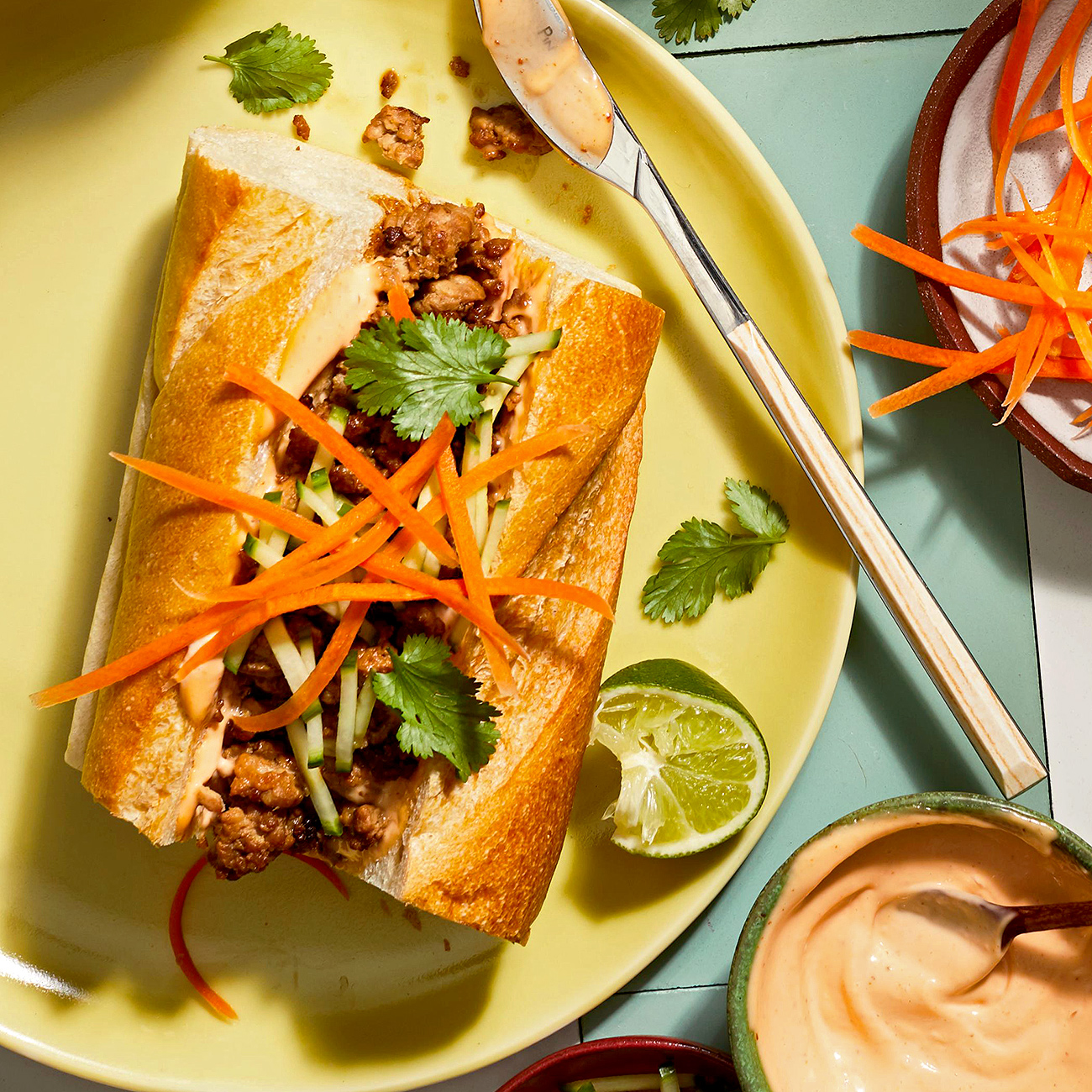 Ground Pork Banh Mi