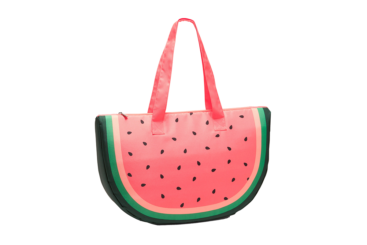 Old Navy Large Fruit-Shaped Tote for Women in Watermelon
