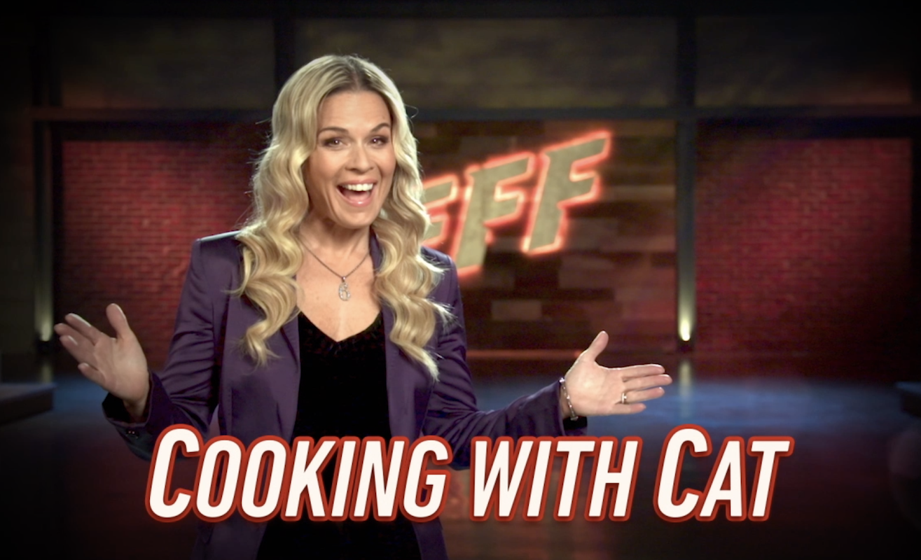 Cooking Shrimp at Home with Cat Cora