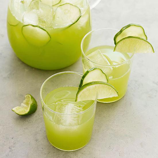 Cucumber-Lime Agua Fresca