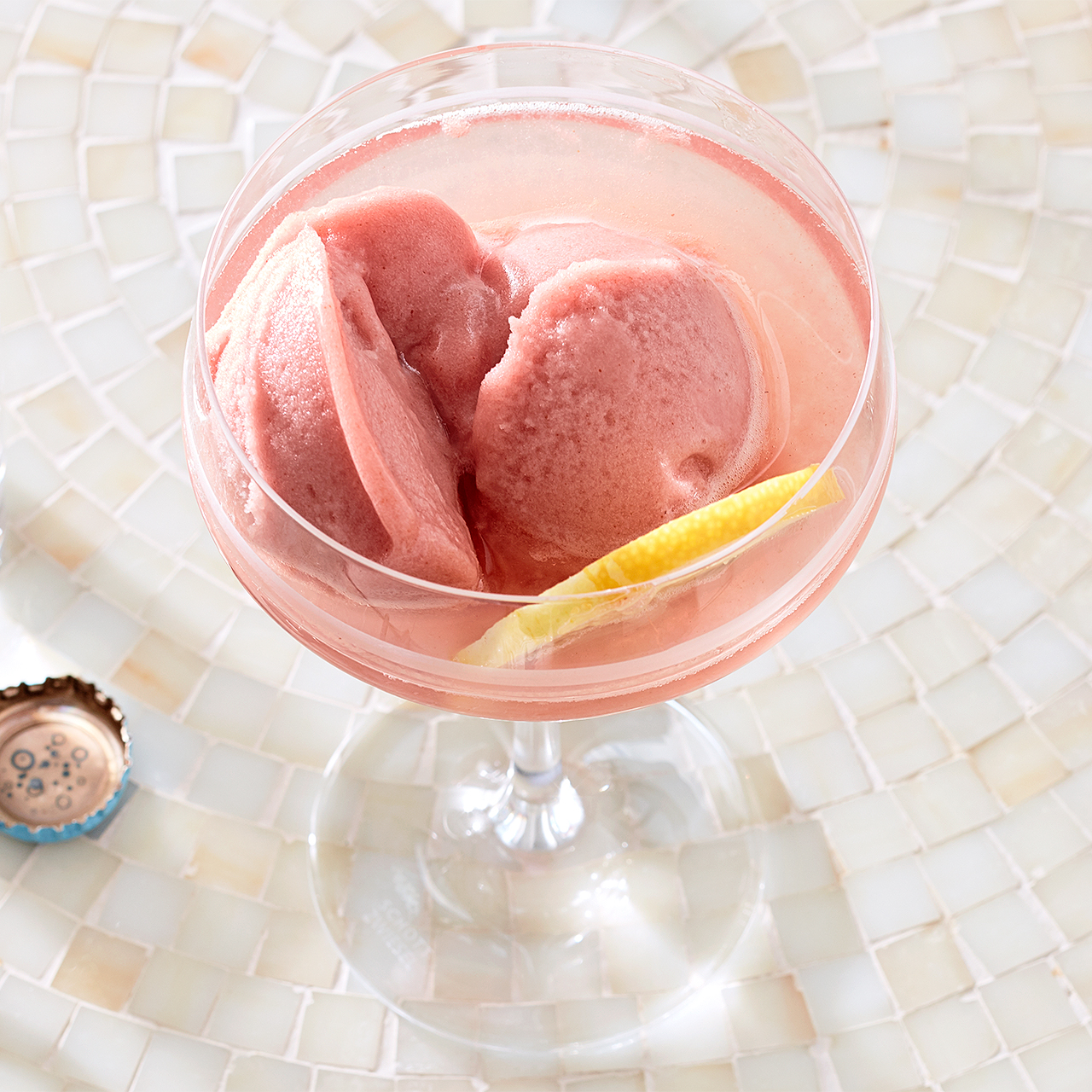 Sorbet Cocktail