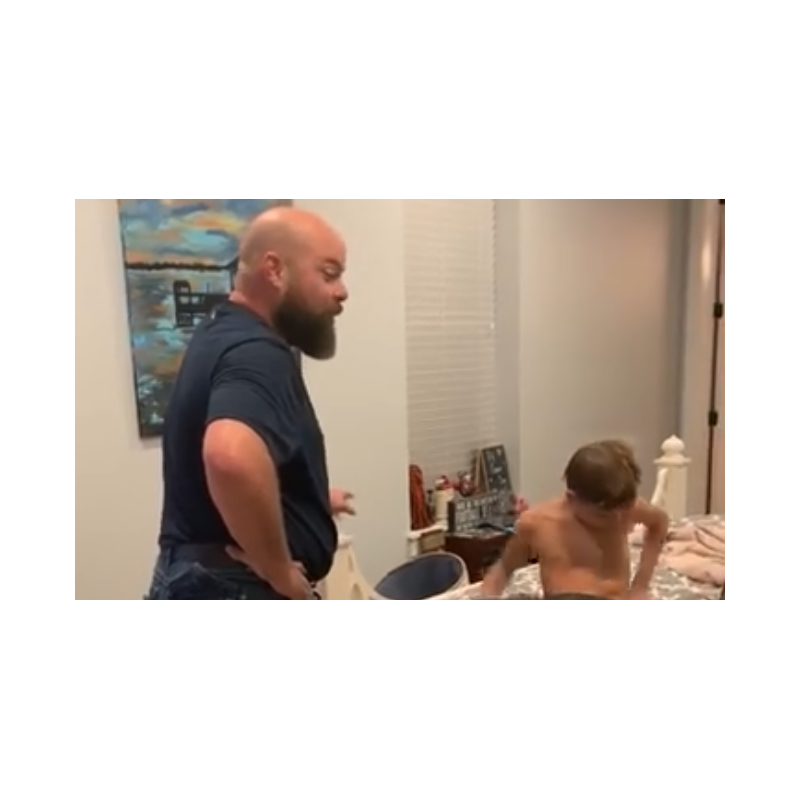 Watch This Hilarious Dad Challenge His Teenage Daughter