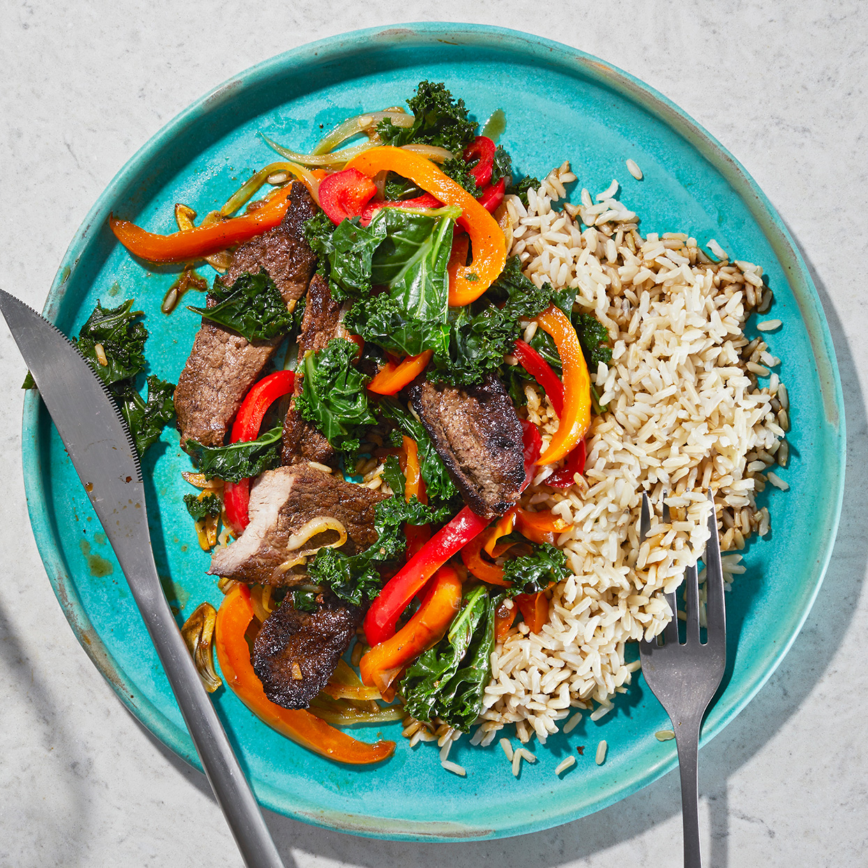 Steak and Pepper Stir-Fry