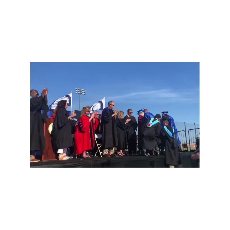 Long beach high school graduation