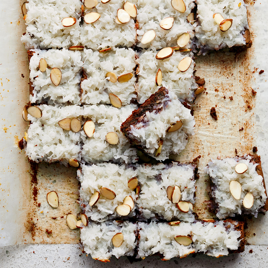 Coconut-Almond Brownies