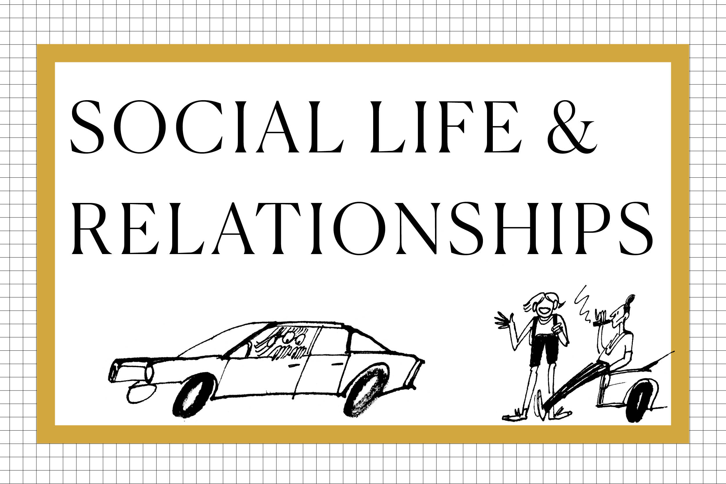 Social life and relationships 2019
