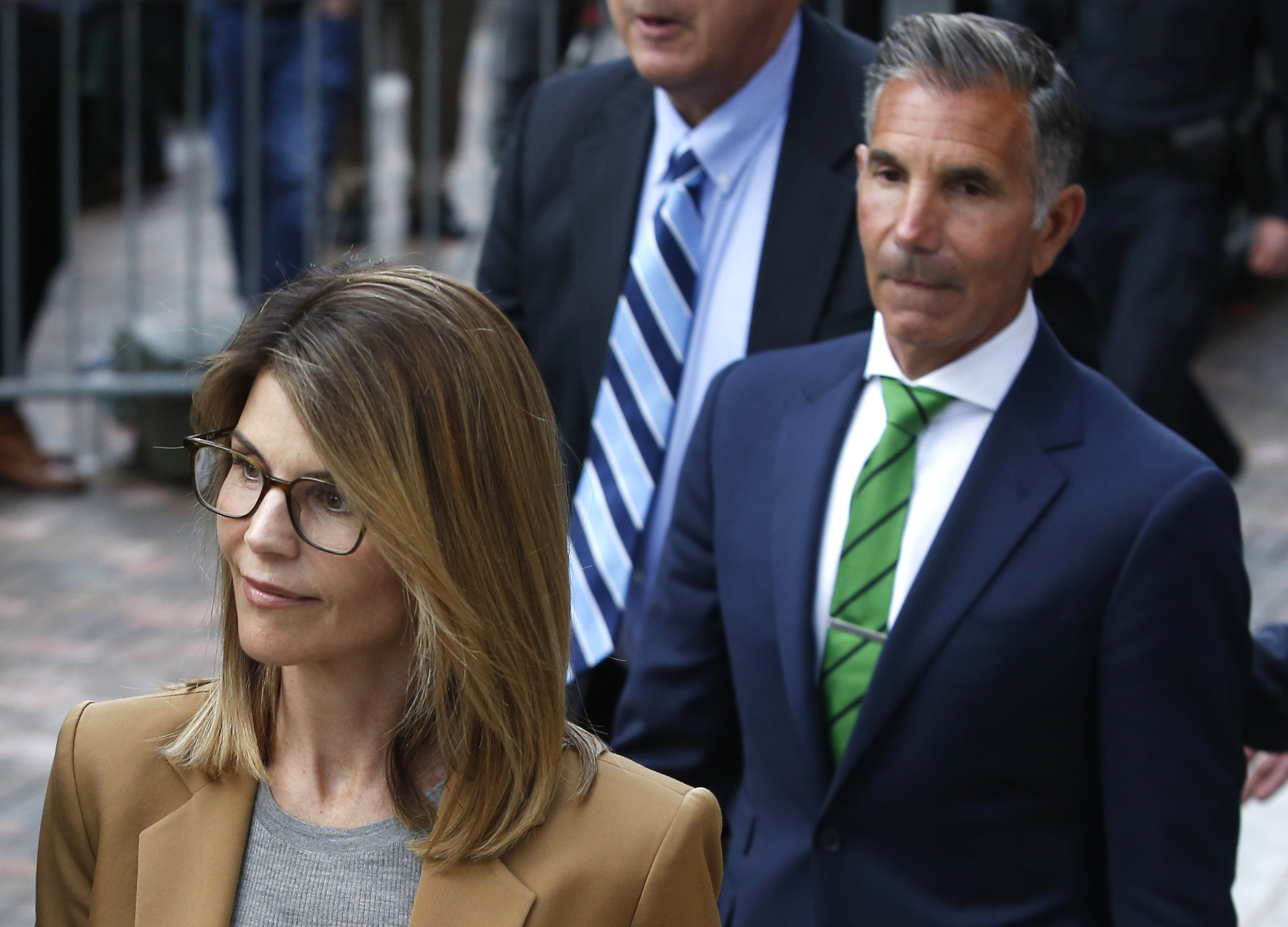Lori Loughlin and Mossimo Giannulli Appear in Boston Court
