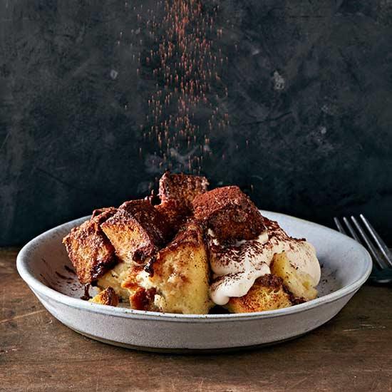 Challah Chocolate Bread Pudding