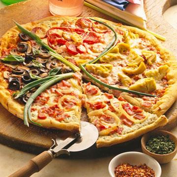 Pizza Four Ways