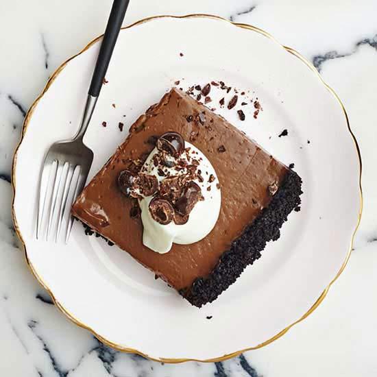 Chocolate-Espresso Slab Pie