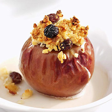 Spiced Fruit and Nut Baked Apples