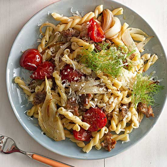 Gemelli with Sausage and Fennel