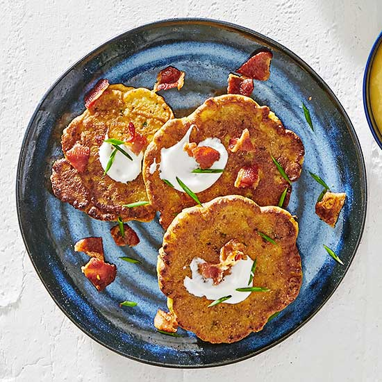 Bacon-Corn Fritters