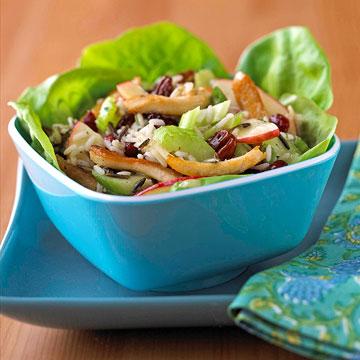 White and Wild Rice Chicken Salad