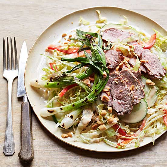 Charred Pork Thai Salad