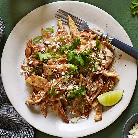 Chilaquiles-Style Chicken