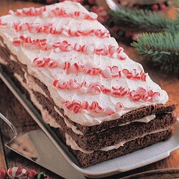 Chocolate-Mint Torte