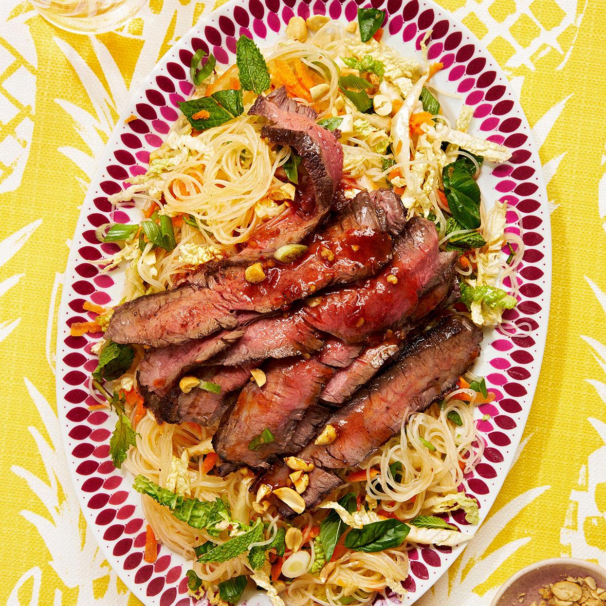 Pho-Style Beef Salad
