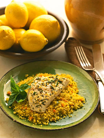 Couscous With Cod