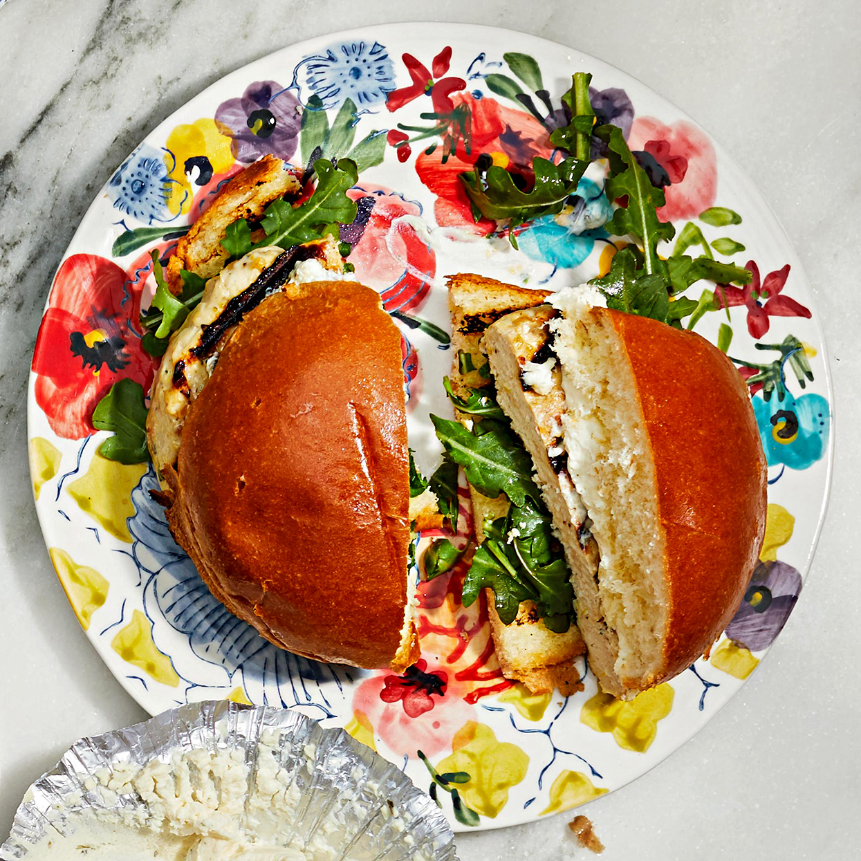 Lemon-Thyme Chicken Burgers
