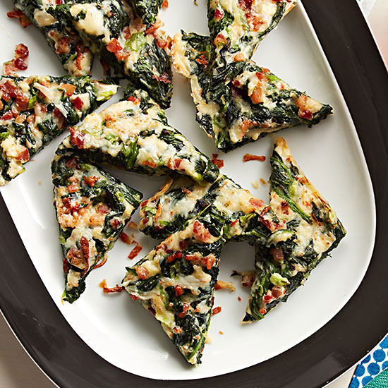 Spinach-Bacon Bites
