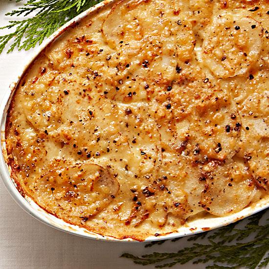 Truffled Potato Gratin