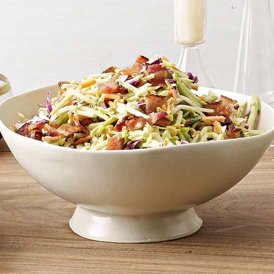 Broccoli and Snap Pea Salad