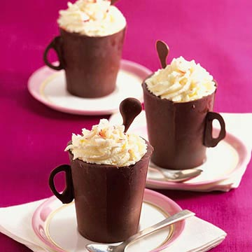 Mint Chocolate Teacups