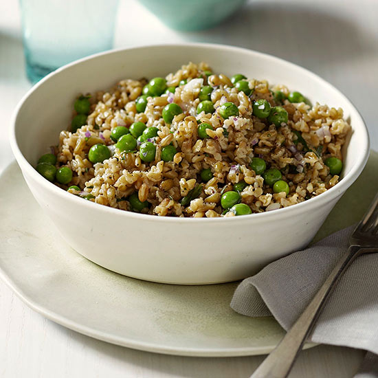 Freekeh and Pea Salad