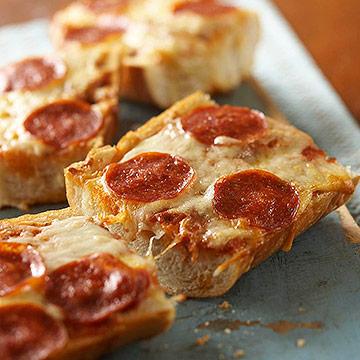 Crusty Pepperoni Pizza