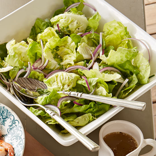 Herb Salad with Lime Vinaigrette