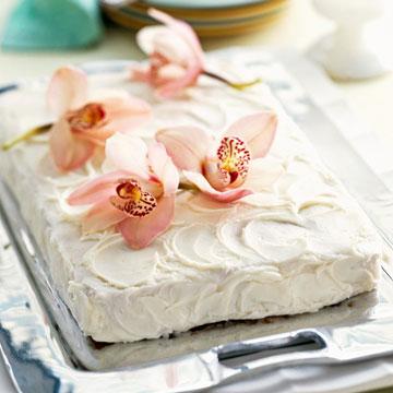 Rich Ginger Sheet Cake
