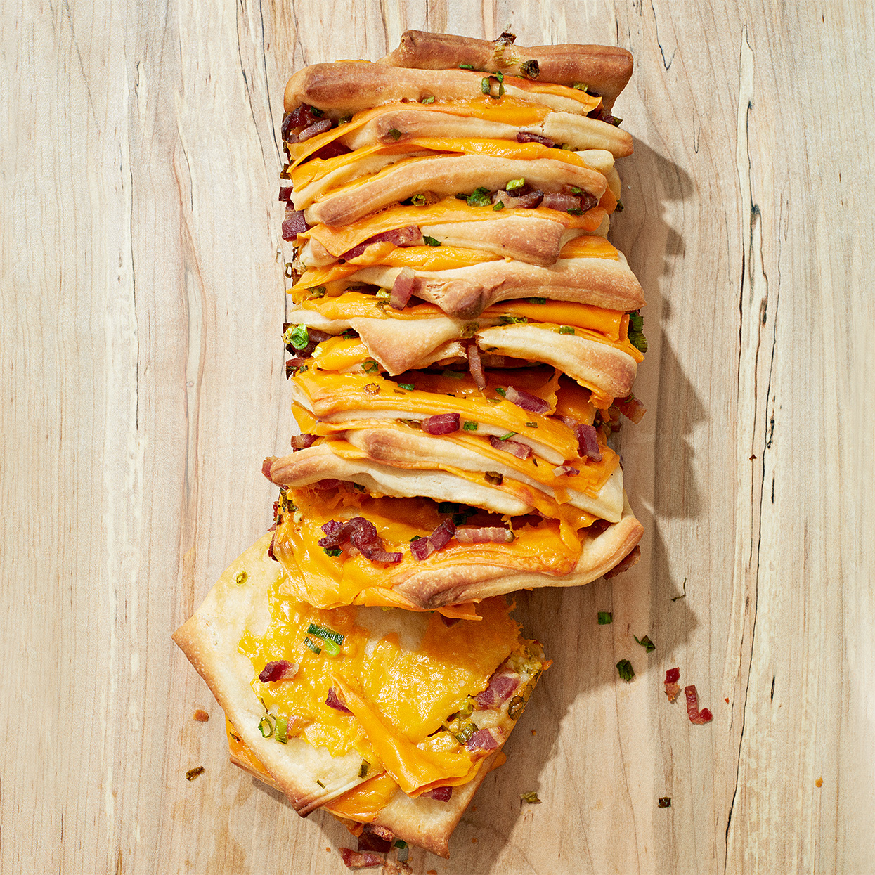 Cheddar, Bacon and Scallion Bread