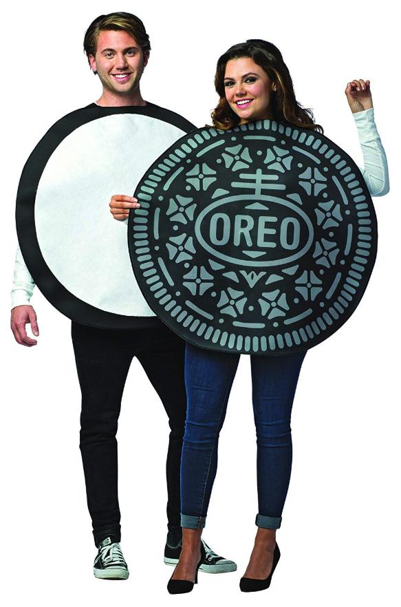 Oreo Cookie Couples Costume