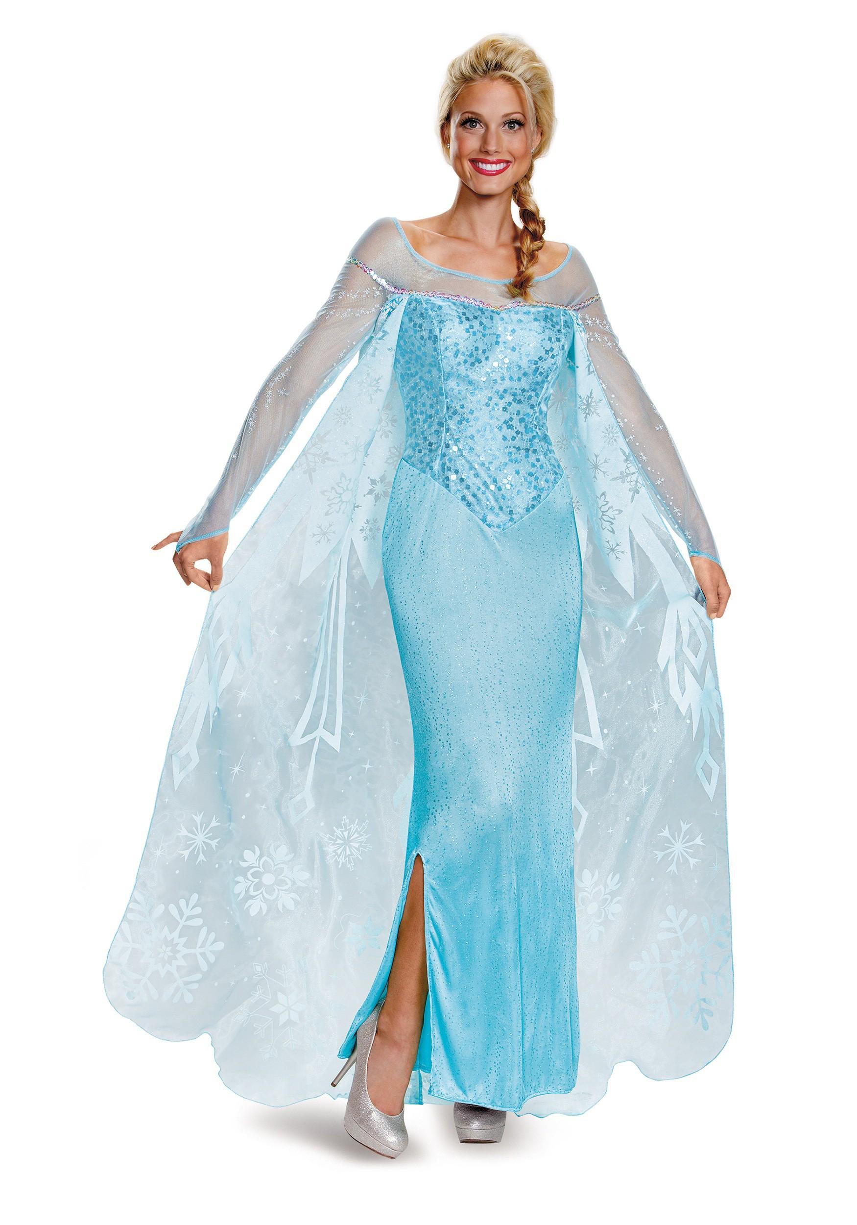 Queen Elsa Halloween costume