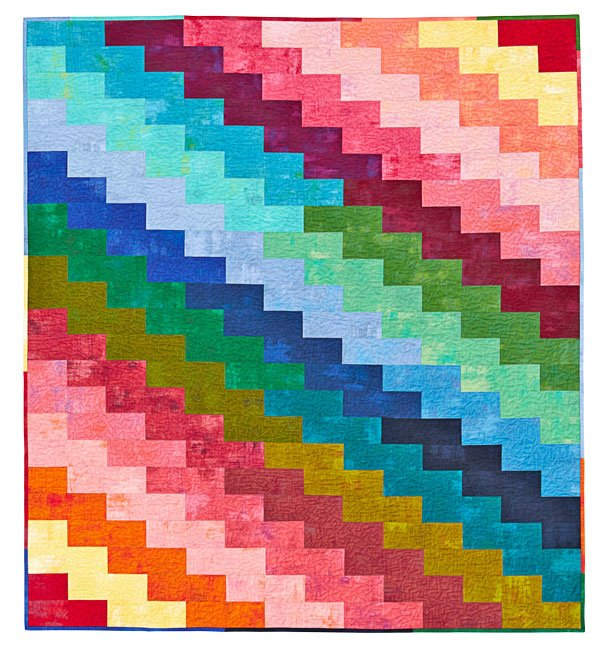 Rainbow Zigzags