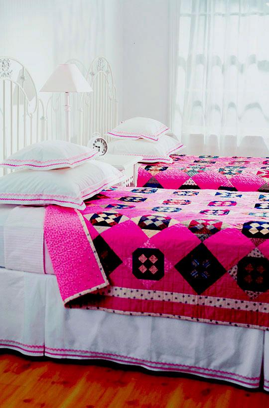 Bubblegum Pink Quilt