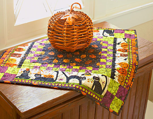 Halloween Table Mat