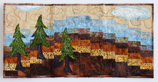 Quilted Postcards