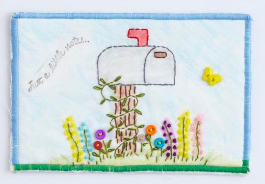 Little Note Postcard