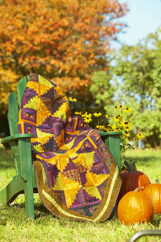Color Options from American Patchwork & Quilting®October 2009