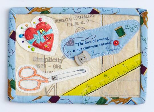 Sewing Love Postcard