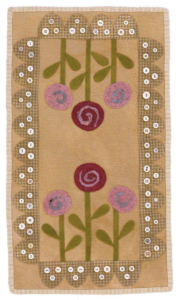 Posies Wool Table Mat
